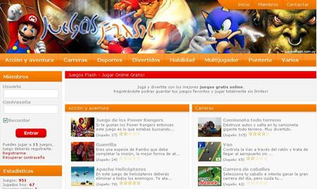 Juegos Flash online