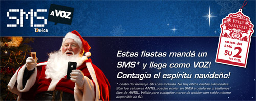 SMS Navidad 2011